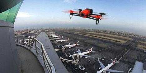 Atatürk Havalimanı'nda yine Dron