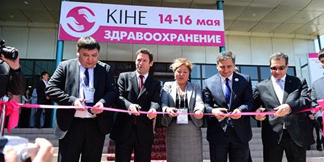 Emin Çakmak Kazakistan'da