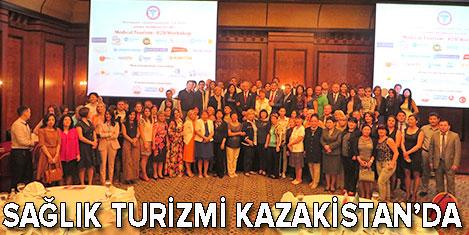 Türkiye sağlık turizmi Almati'de