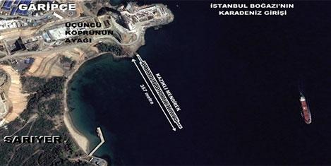 İstanbul Boğazı'na yeni liman