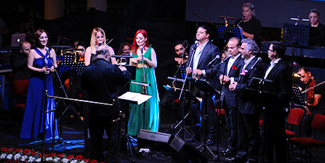 Mersin'de polifonik korolar şenliği