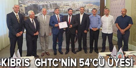Kuzey Kıbrıs, GHTC'nin 54'cü üyesi
