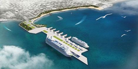 Antalya'ya Dubai modeli dev liman