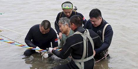Çin'de gemi faciası 400 yolcu kayıp