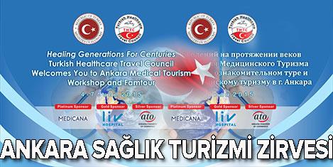 Dünya Sağlık Turizmi Ankara'da