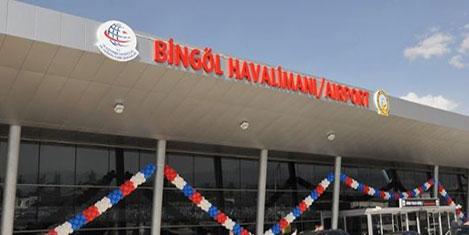 Bingöl Havalimanı dünyaya açılıyor