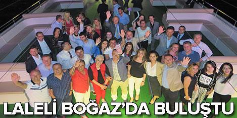 Laleli Otelcileri Boğaz'a indi