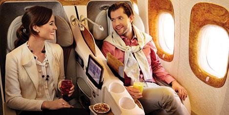 Emirates'te bilet fiyatını beklet