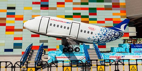 Anadolujet'in simulasyon uçağı