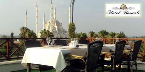 Hotel Bosnalı'da iftar yemeği farklı
