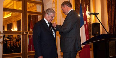 Rahmi Koç'a Legion D'honneur
