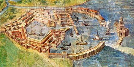 Roma limanı yeniden inşa ediliyor