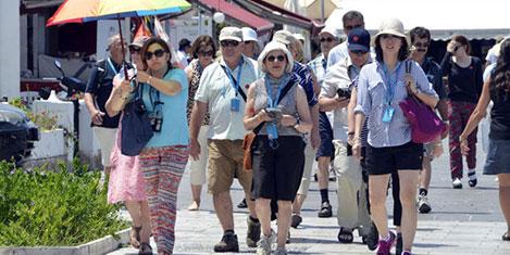 Turizmde yüzde 4,4 düşüş