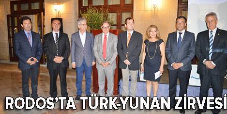 Türk-Yunan iş dünyası Rodos'ta