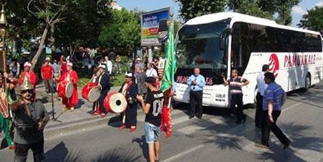 Pamukkale Turizm Çanakkale'de