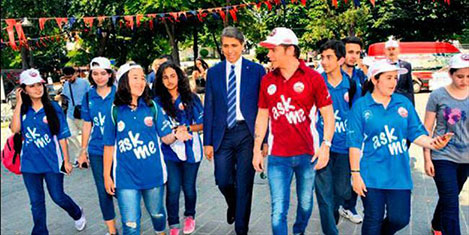 Sinan Akçıl, gönüllü turizm elçisi