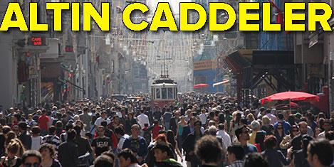 En değerli caddeler İstanbul'da