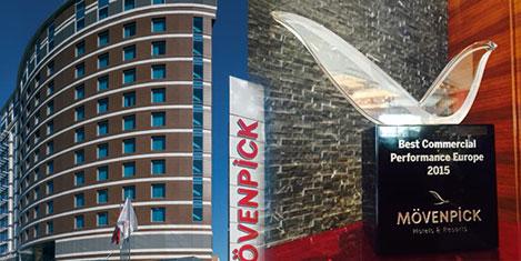 Mövenpick Hotel Ankara'ya ödüller