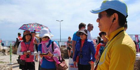 Turizmde Çinlileri de kaybediyoruz