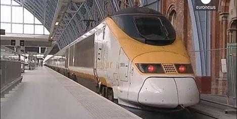 Eurostar'da yolcu rekoru