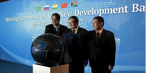BRICS ülkelerine kalkınma bankası