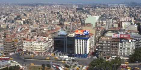 Taksim korsan turizm cenneti