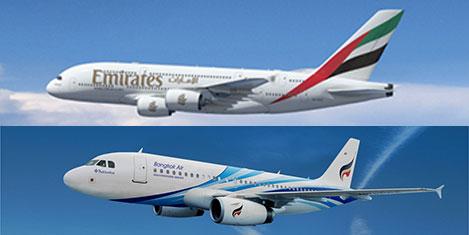 Emirates ve Bangkok Air anlaştı