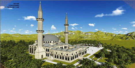 Cemaleddin-i Seydi Cami turizmde