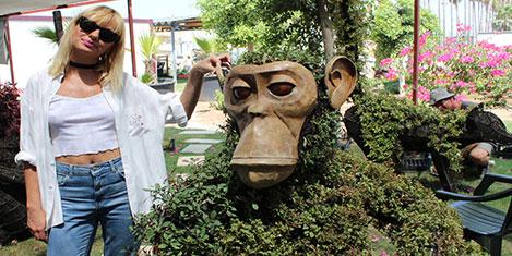 EXPO 2016'da bitki heykeller