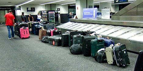 Barcelona'da 2 bin bagaj