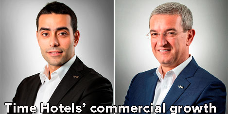 Time Hotels' commercial growth