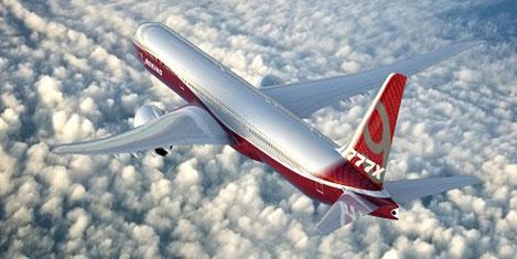 Boeing, 777X'in tasarımı tamam