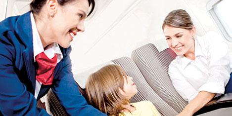 Bebekle mutlu uçuşun sırları
