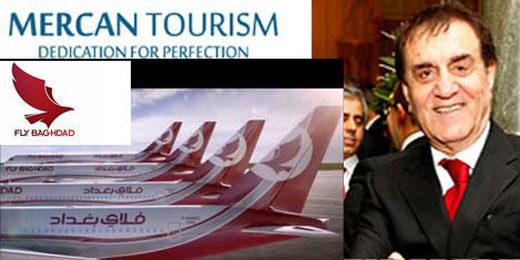 Mercan Turizm, Fly Baghdad temsilcisi