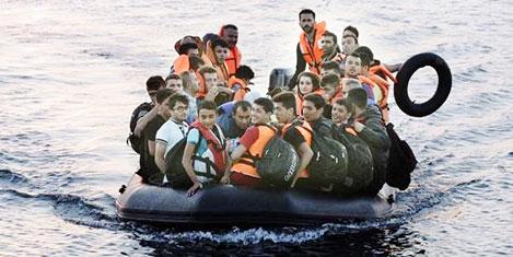 Kos adasında mülteci dramı