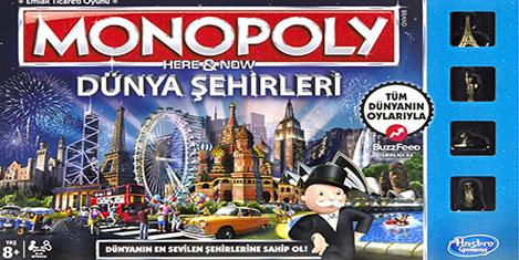 Dünya Şehri İstanbul, Monopoly'de!