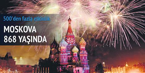 Moskova 868 yaşında