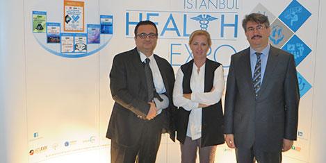 Sağlıkçılar İstanbul Health Expo'da