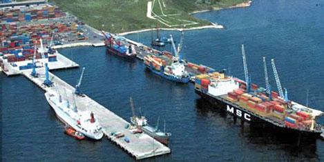 Kumport Limanı Cosco Pacific'te