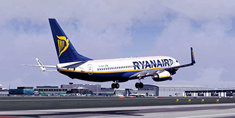 Ryanair Suriyelileri taşıyacak