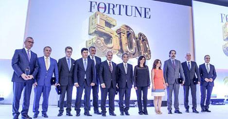 Fortune 500 ödülleri verildi