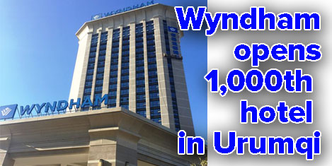 Wyndham opens hotel in Urumqi