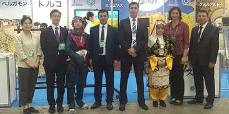 İzmir, Jata Turizm Fuarında tanıtıldı