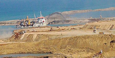 Palmiye Adası'nın gemisi geldi