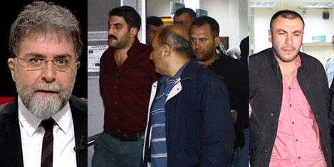 Hürriyet yazarı Ahmet Hakan'a saldırı