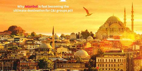 İstanbul İngiliz dergisinde kapak