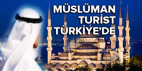 Müslüman turistin tercihi Türkiye