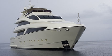 Boat Show'un üç Prima Donna's