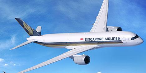Singapur Air Amerika'ya uçuyor