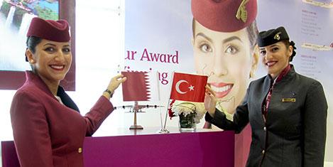 Qatar Airways High-Tech Fuarı'nda